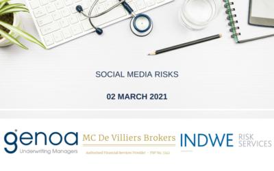 Online Session: Social Media Risks