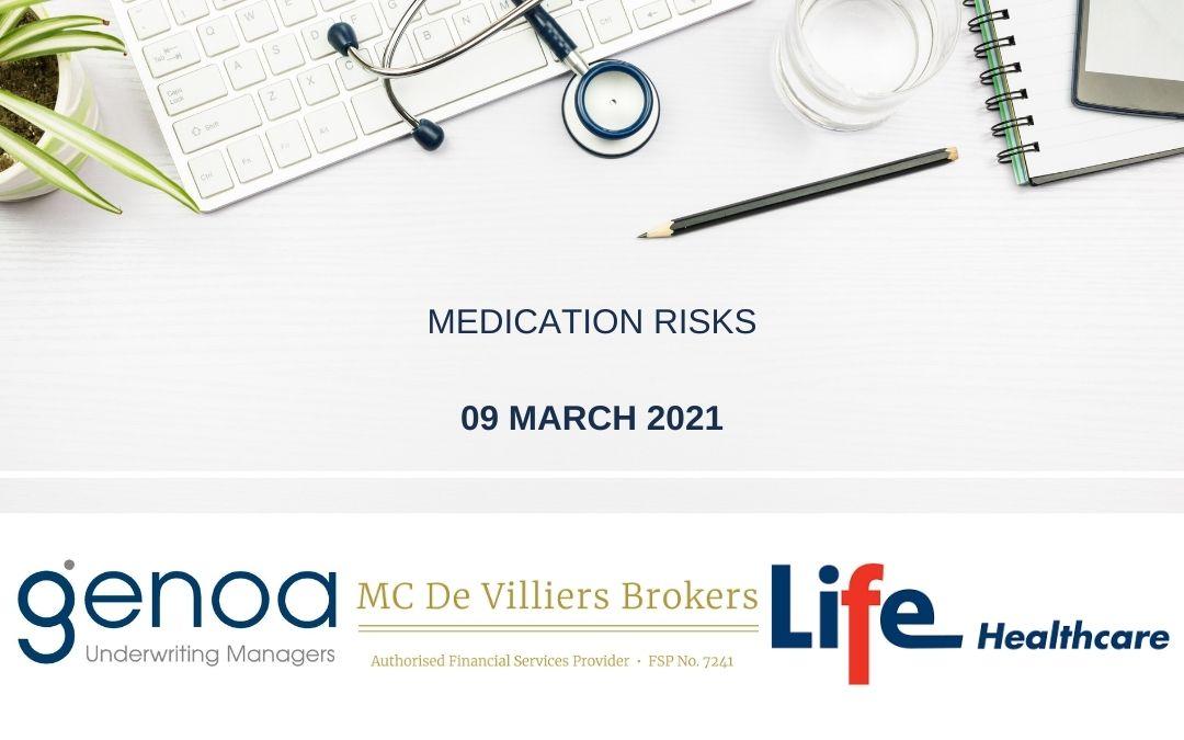 Online Sessions: Medication Risks