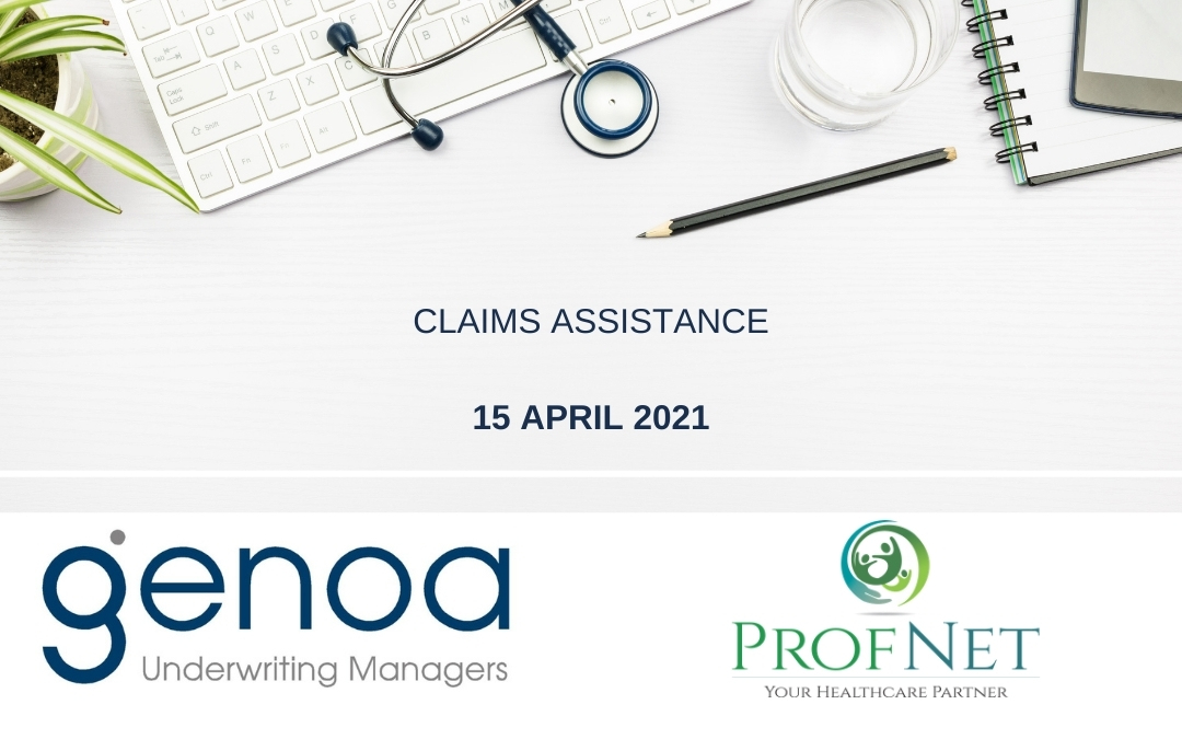Online Sessions: Claims Assistance