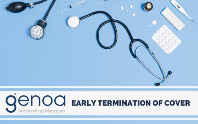 Early Termination of Medical Malpractice Cover