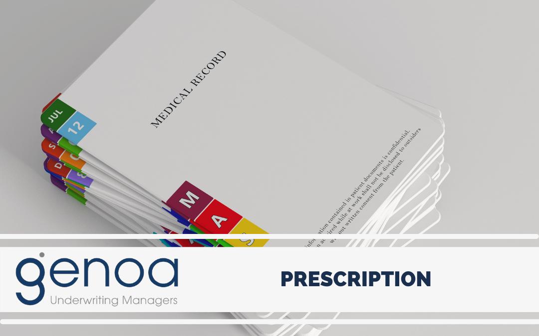 A little about prescription…
